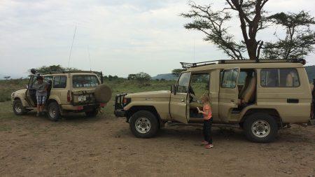 Ute på safari är det viktigt med en bra och bekväm bil.